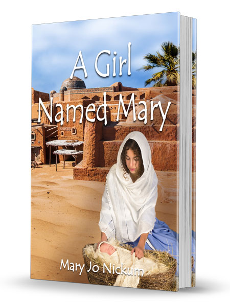 A Girl Named Mary 3D Book Cover-Bookmark size